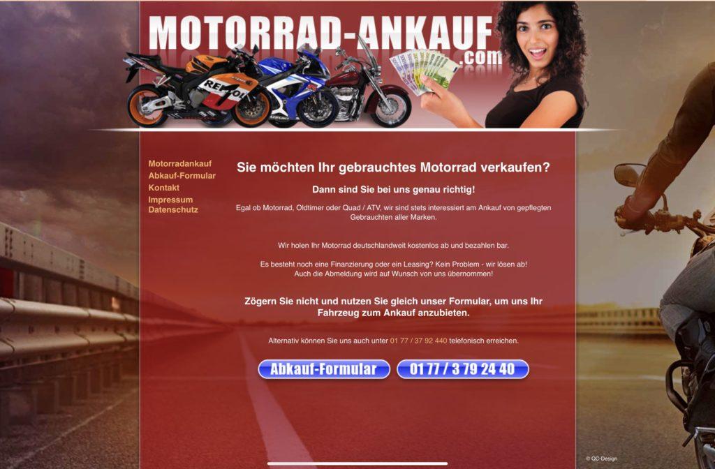 Link zu Motorrad Ankauf